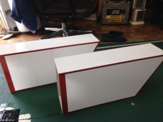 川崎大師看板製作過程